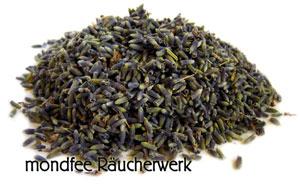 Räucherwerk Lavendelblüte, Räuchern für gute Energie
