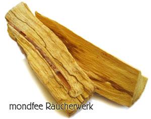 Räucherwerk Palo Santo, heiliges Holz räuchern Wirkung
